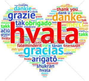 serbian-croatian-hvala-heart-shaped-drawings_csp26579098